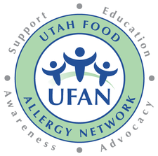 Utah Food Allergy Network (UFAN) logo