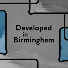 Developed in Birmingham logo