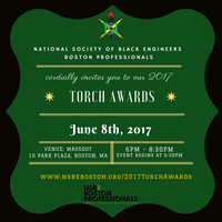 "2017 NSBE Boston ""Torch Awards"" reception"