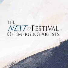 The Next Festival of Emerging Artists logo