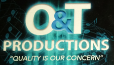 O&T PRODUCTIONS logo