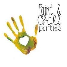 Paint and Chill Parties logo