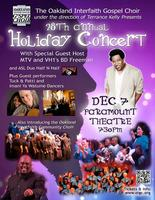 Tuck and Patti at Oakland Interfaith Gospel Choir Holid...