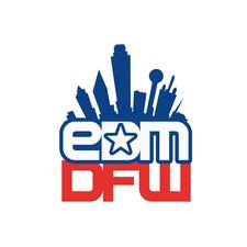 The Electronic Dance Music Group of Dallas-Fort Worth: EDM DFW logo
