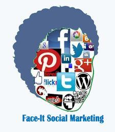 Face-It Social Marketing logo