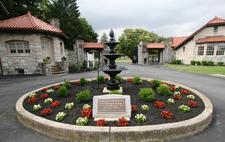 Rose Hill Cemetery logo