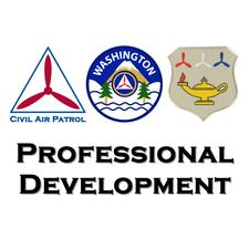 Professional Development, Washington Wing, Civil Air Patrol logo