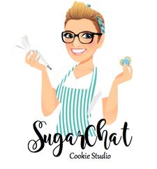 SugarChat Cookie Studio logo