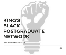 King's Black Postgraduate Network logo