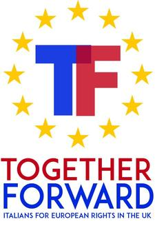 Together Forward - Italians for European Rights in the UK logo