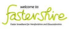 Fastershire Broadband Project logo