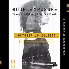 Double Exposure Investigative Film Festival and Symposium logo