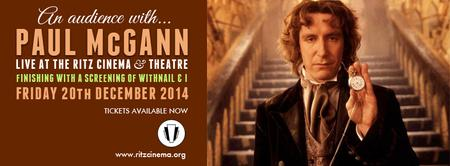 An Evening With Paul McGann @TheRitzCinema Q&A, Withnail & I -...