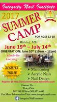 Integrity Nail Institute Mentoring Summer Camp 2017