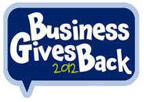 Business Gives Back Expo logo