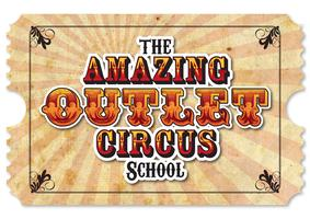 Circus School at The Outlet (5-7 year old session) Saturday...