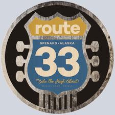 Route33 in Spenard logo
