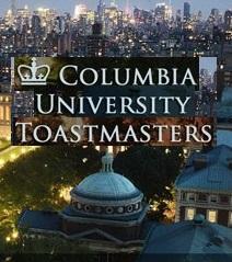 Columbia University Toastmasters logo