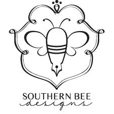 Brooke Helton with Southern Bee Designs logo