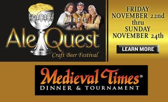 Ale Quest at Medieval Times, Schaumburg