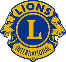 The Tewksbury Lions Club logo