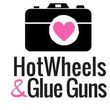 Hot Wheels and Glue Guns  logo