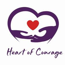 Heart of Courage logo