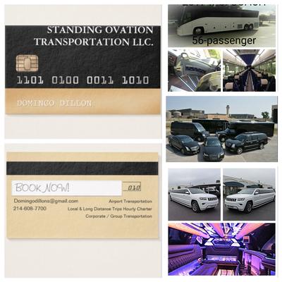 Standing Ovation Transportation LLC. logo
