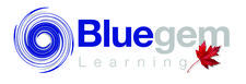 Bluegem Learning  logo