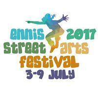 Ennis Street Arts Festival 2017 logo