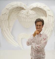 Ray Besserdin, Paper Sculpture Artist  logo