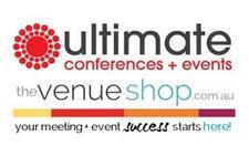 UltimateConferences+Events ~ TheVenueShop.com  logo