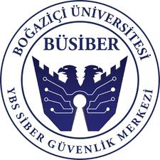 BÜSİBER (Boğaziçi Üniversitesi Siber Güvenlik Merkezi) logo