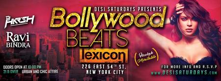 Bollywood Beats - A Weekly Saturday Night DesiParty @...