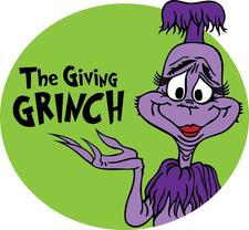 The Giving Grinch logo