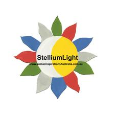 Stellium Light | Zodiac Inspirations Australia | Cecilia Lugo-Anderson logo