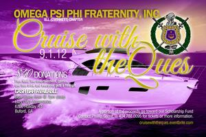 Cruise with the QUES by Omega Psi Phi Fraternity, Inc...