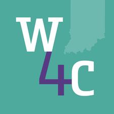 Women4Change Indiana: Restructuring + Activism Task Force logo