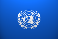 Collegiate High School Model United Nations (MUN) logo
