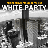 Pencils of Promise Summer White Party 2012