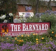 "The Barnyard Shopping Village ~ ""Where Carmel Comes Together""  logo"