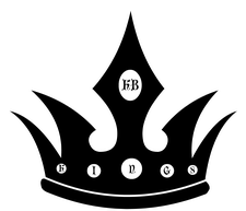 KB Kings Poker Company logo