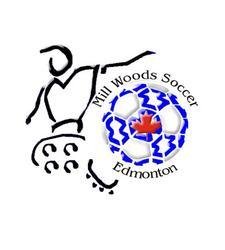 Mill Woods Soccer Association logo