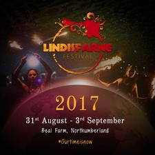Lindisfarne Festival logo