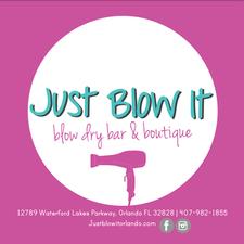 Just Blow It | Blow Dry Bar & Boutique logo