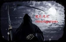 REAP INVESTIGATIONS logo