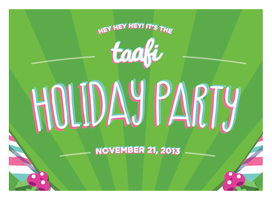 TAAFI Animation Holiday Party