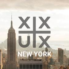 XX+UX NYC logo