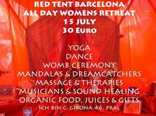 Red Tent BCN logo