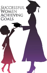 Successful Women Achieving Goals  logo